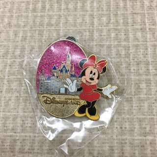 包平郵 Hong Kong Disney Pin 迪士尼襟章 城堡系列 米妮 Minnie