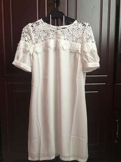White Dress Brandnew