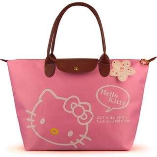 Hello Kitty Foldable Waterproof Tote Bag
