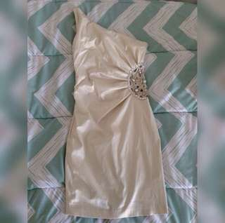 Champagne Colour Dress