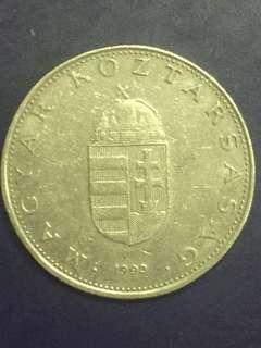 Hungary 10 forint year 1993, XF