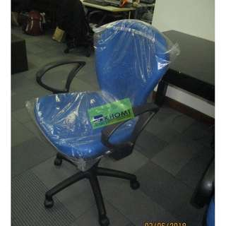 812TGA CLERICAL CHAIRS BLUE COLOR--KHOMI