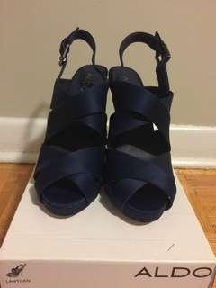 Aldo Blue Lantgen Heels