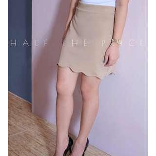 HTP Scallop Skirt