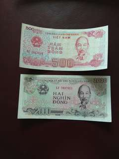 Vietnam Notes Year 1988