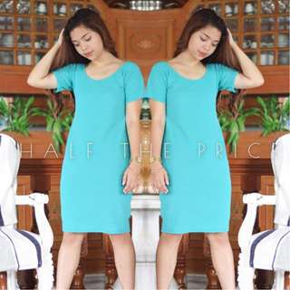 HTP Teal Dress