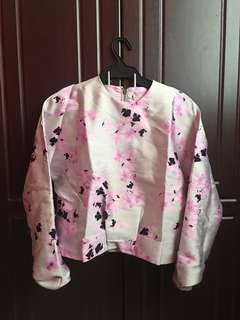 Floral Top Long Sleeves