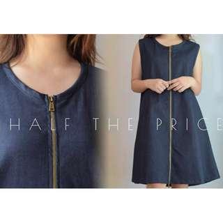 HTP Full Zip Vest/Dress