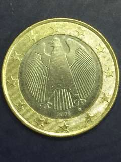 Euro $1 Year 2002, Germany design , XF