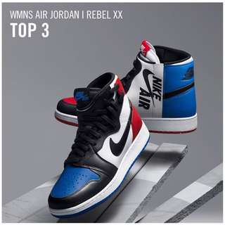 "Women's Air Jordan 1 Rebel XX "" TOP 3""|COLLECTOR'S ITEM|LIMITED QUANTITY"