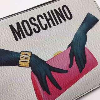 MOSCHINO 長銀包