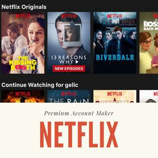 TUTORIAL NETFLIX PREMIUM ACCOUNT