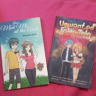 Fiction Books: Just meet me at the aisle && Unwanted Fairy Tale
