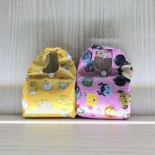BN Tsum Tsum // Gudetama Recycling Bag
