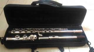Concert Flute (16 Holes C Key, nickel plated)