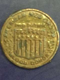 American Red Cross Blood donation Token Coin Year ???