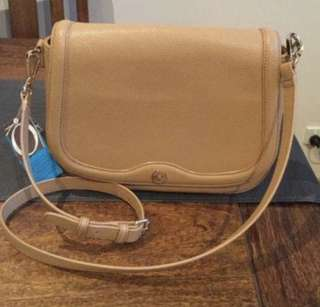 Oroton Melanie Pebble leather crossbody