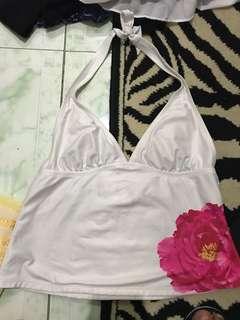 """REPRICED """"Isaac Mizrahi"""" tankini/ bikini top"""