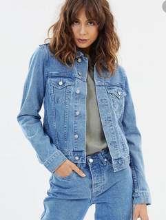 Assembly Label - Women's Blue Denim Jacket - Size 12