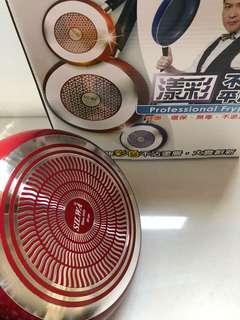🚚 SILWA西華名鍋 漾彩不沾平底鍋30cm附蓋-炫麗紅