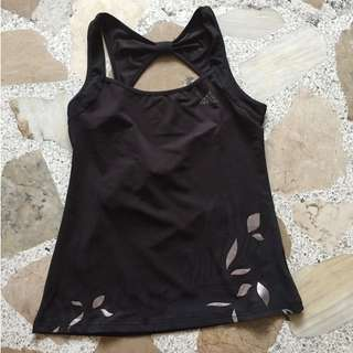 Black Sleeveless Top Dri-fit
