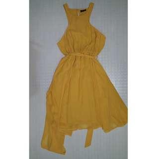 Bardot Yellow Dress (BNWOT)