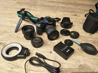 Canon 60D - light weight traveller set