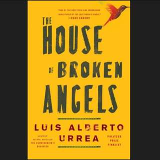 (Ebook) The House of Broken Angels by Luis Alberto Urrea