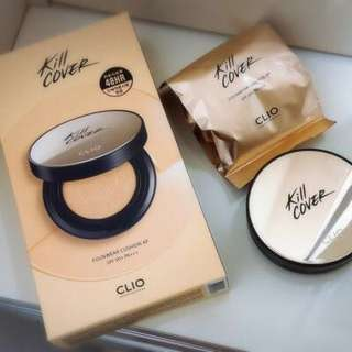 Clio Professional Kill Cover Cushion XP Special Set
