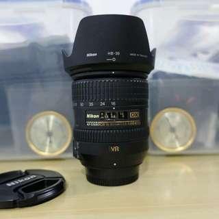 16-85mm AF-S Nikkor Lens Nikon Mount