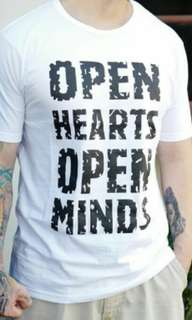 TUMBLR TEE PRIA OPEN HEARTS OPEN MINDS