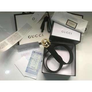 Gucci premium quality belt