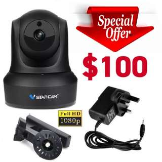 HD 1080P Authentic VStarcam C29S wireless IP Camera (2.8mm) Wider Angle View (Brand New)