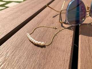 天然珍珠手鏈