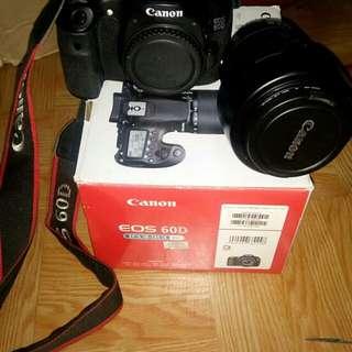Nak jual camera canon 60d lans 18-135 semua compit with kotak jarang guna nak butuh duit