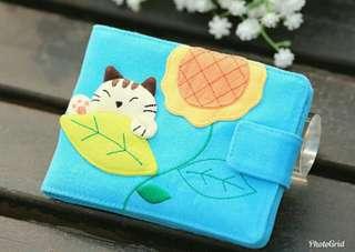 🚚 日本插畫家貓咪名片包