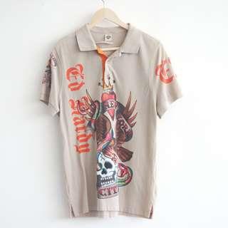 Men's shirt Skull Ed Hardy