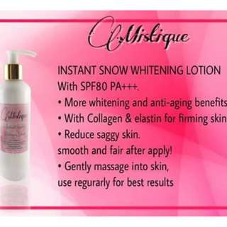 whitening lotion spf 80