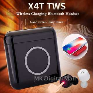 X4T ( X3T UPGRADE ) Superb Sound Quality Bluetooth Headset supports magnetic wireless Charging!