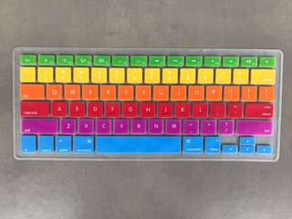 Rainbow keyboard cover protector