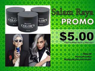 PROMO - Color Hair Wax Pomade