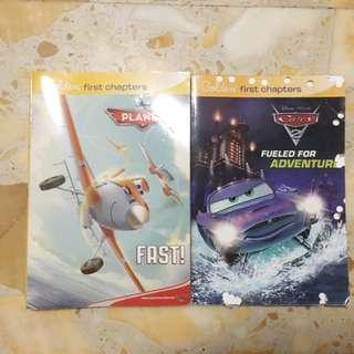Disney planes and cars storybooks bundle