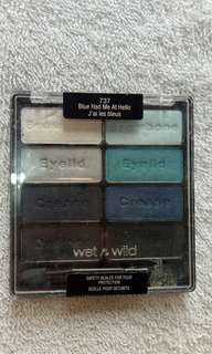 Wet n wild blue had me at hello eyeshadow