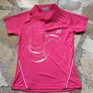 Yonex Dri-fit shirt with collar