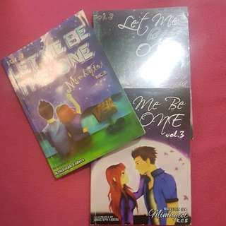 Fiction Books: Let me be The One (Parts 1-3)