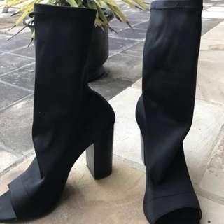 Tony Bianco Malo Heels (RRP$200) Black Size 8.5