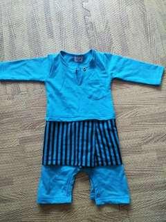 Baby Baju Raya Romper