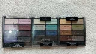 Wet n wild eyeshadow bundling 2 series (ungu biru saja)