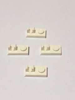 Lego Bricks L210 White New (4pc)