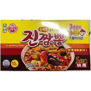 【☆善良的豬☆】[costco代購]OTTOGI不倒翁金螃蟹海鮮風味泡麵